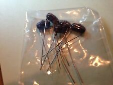 Qty 5 Cornell Dubilier  .0033 600v Capacitors