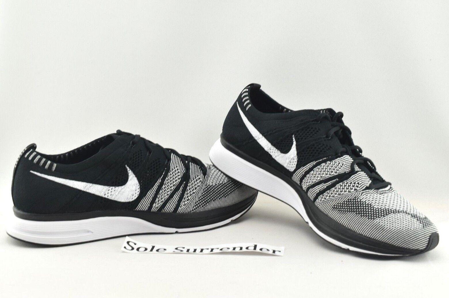 Nike flyknit trainer - 8 - og nuovo - ah8396-005 oreo og - white nero racer qs 313e98