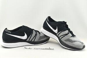 3c1baa1659b4 Nike Flyknit Trainer - SIZE 12 - NEW - AH8396-005 Oreo OG White ...