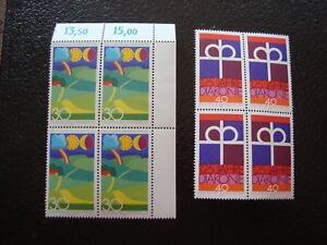 Germany-Rfa-Stamp-Yvert-Tellier-N-659-661-x4-N-MNH-Z19