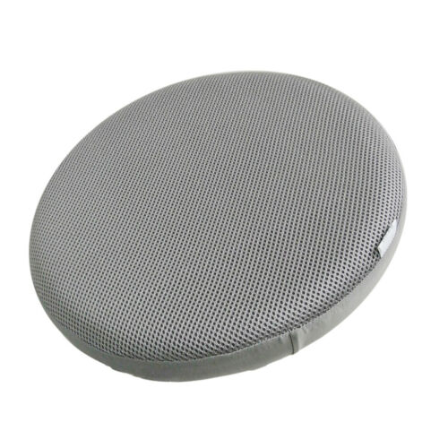 Bar Stool Covers Round Chair Seat Cover Sleeve Protector Gray 40cm