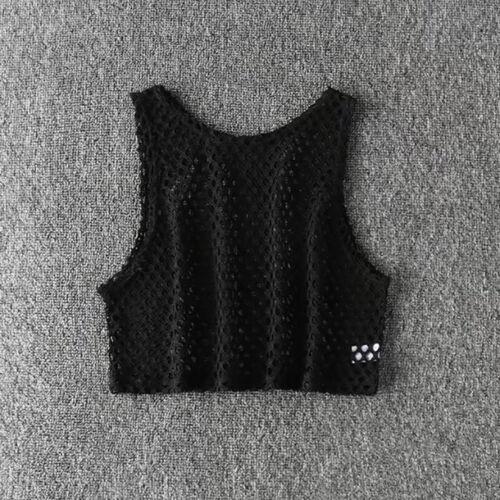 Women Sleeveless Crop Tops Backless Vest Halter Tank Tops Short Blouse T-Shirt