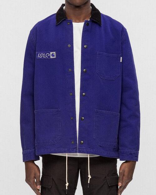 Herren Jacke Carhartt X Isle Skye Jacket ( Blau Stone ) Größe XXL Wert