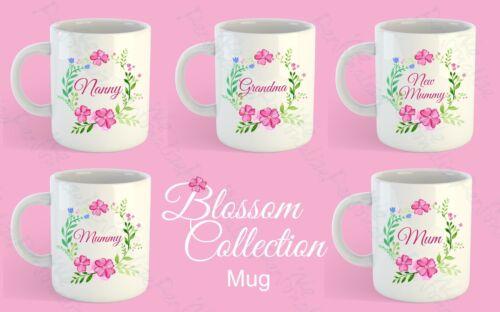 grandma Mummy Nanny Flower Mother/'s Day Gift Mug Gift for Mum Step mum Nan