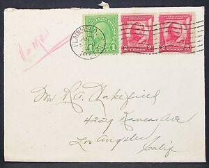 US-Postal-History-Airmail-Cover-Plainfield-General-Pulaski-Lupo-Letter-H-10931