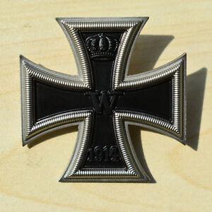 WWI-GERMAN-GERMANY-EK1-IRON-CROSS-1-FIRST-CLASS-MEDAL-ORDER-BADGE-33622