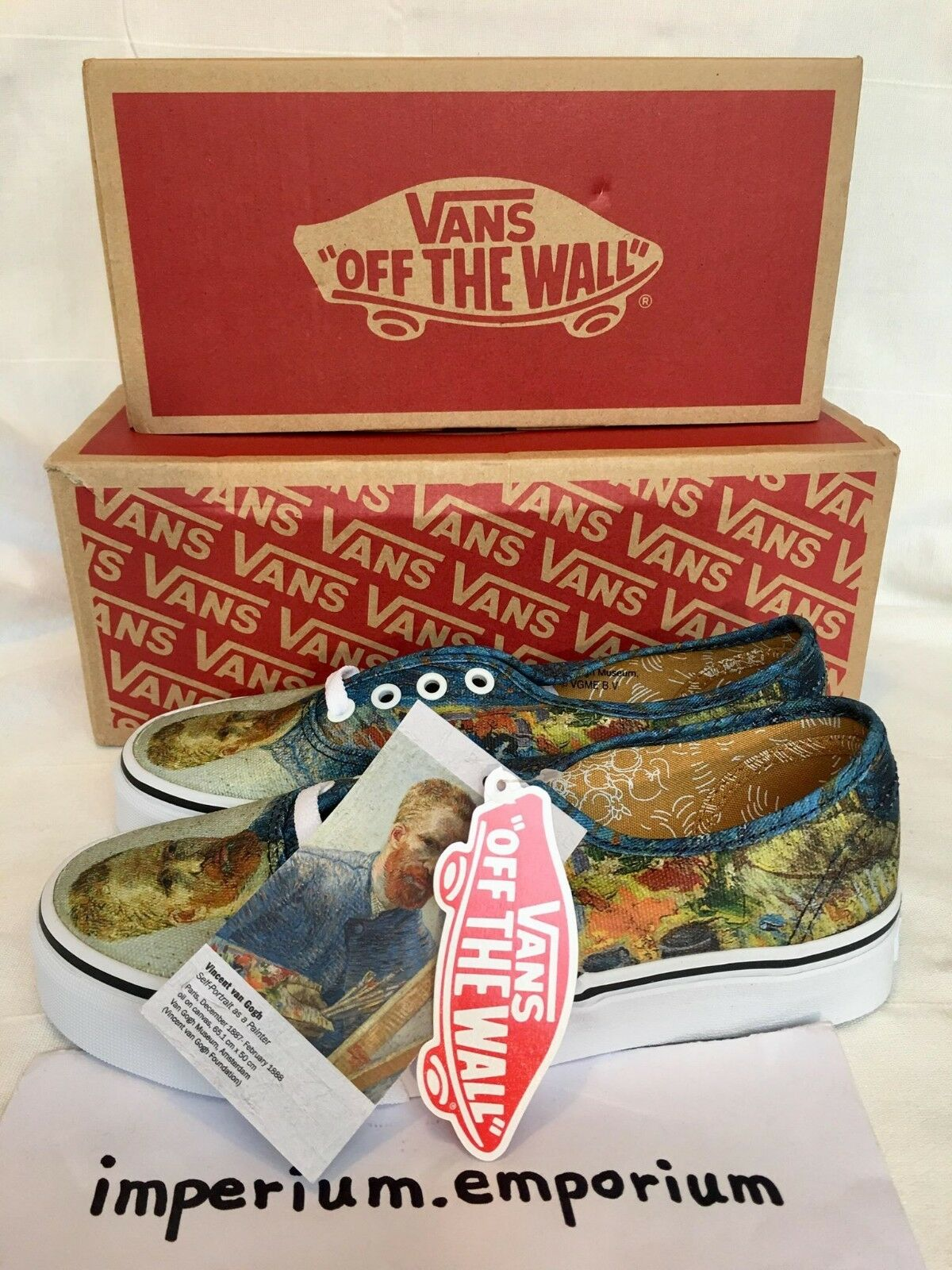 Vans x Vincent van Gogh Museum Authentic Self Portrait Size
