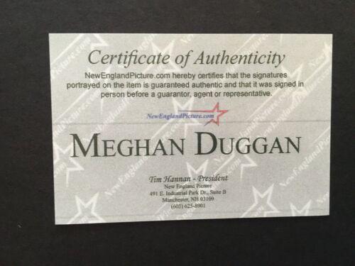 MEGHAN DUGGAN AUTOGRAPHED 8 X 10 PHOTO WINNING GOLD