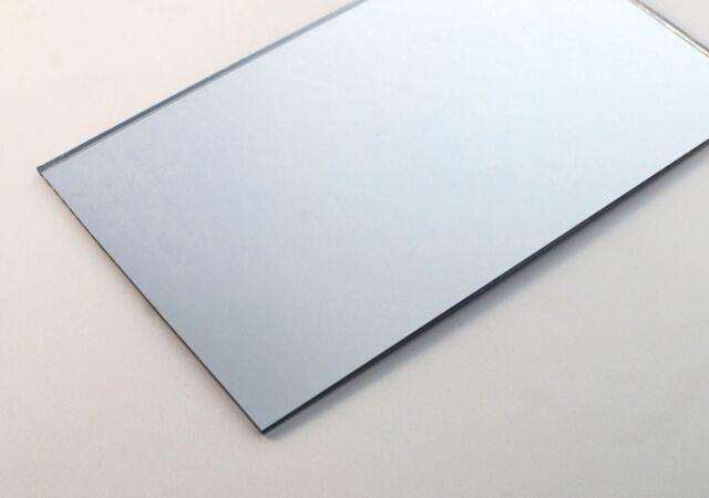 Acrylic Silver Mirror 300 x 300 x 3mm CAST Sheet Solid mirror FREE Speedy POST