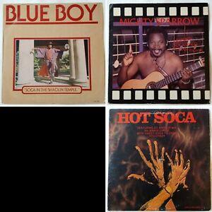 3x-Soca-Reggae-Afrobeat-LP-joblot-Mighty-Sparrow-Blue-Boy-Ed-Watson-Calypso