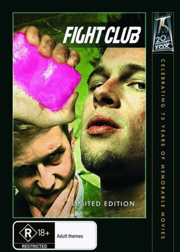 1 of 1 - FIGHT CLUB - BRAD PITT. LIKE NEW, R4