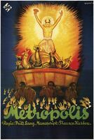 Metropolis Fritz Lang 1927 Vintage Style Movie Poster 24x36 Inches