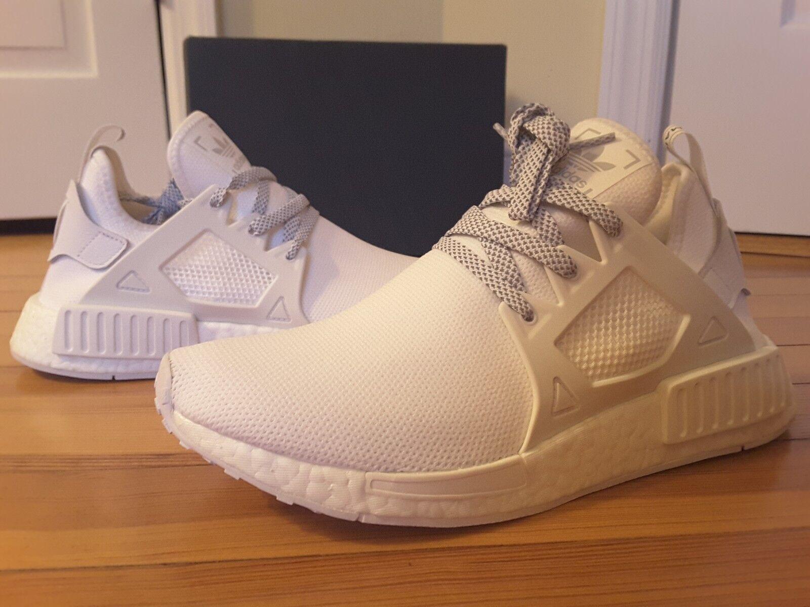 New Adidas NMD_XR1 Triple White BY3052 Europe Footlocker Exclusive NMD XR1 Mens