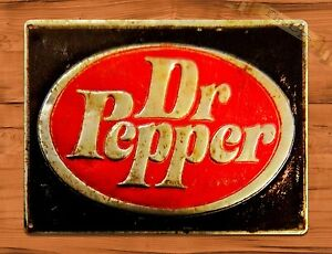 Tin Sign Dr Pepper Rustic Soda Cola Kitchen Wall Decor Ebay