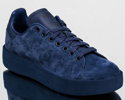 adidas Originals Stan Smith Bold Womens Navy Lifestyle Sneakers Size 5.5 DA8653 | eBay
