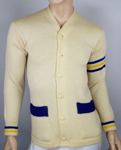 Vtg 50s Wool Campus Letterman Sweater AtOMiC Rocka
