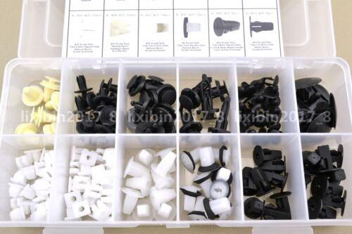 146Pcs Fender Door Hood Bumper Trim Clip Body Retainer Assortment For Toyota