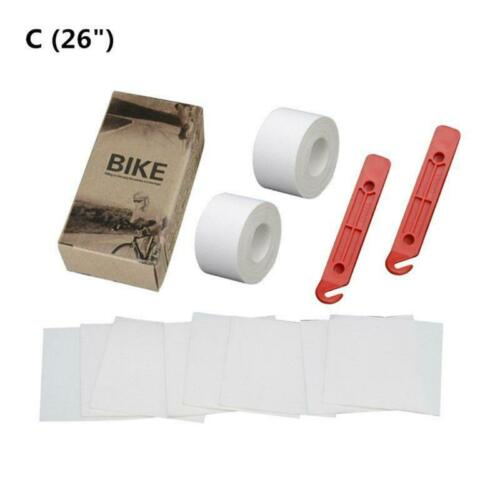 1 set Bicycle Tire Liner Puncture Proof Belt Bike Inner Tube Protection Pad Q