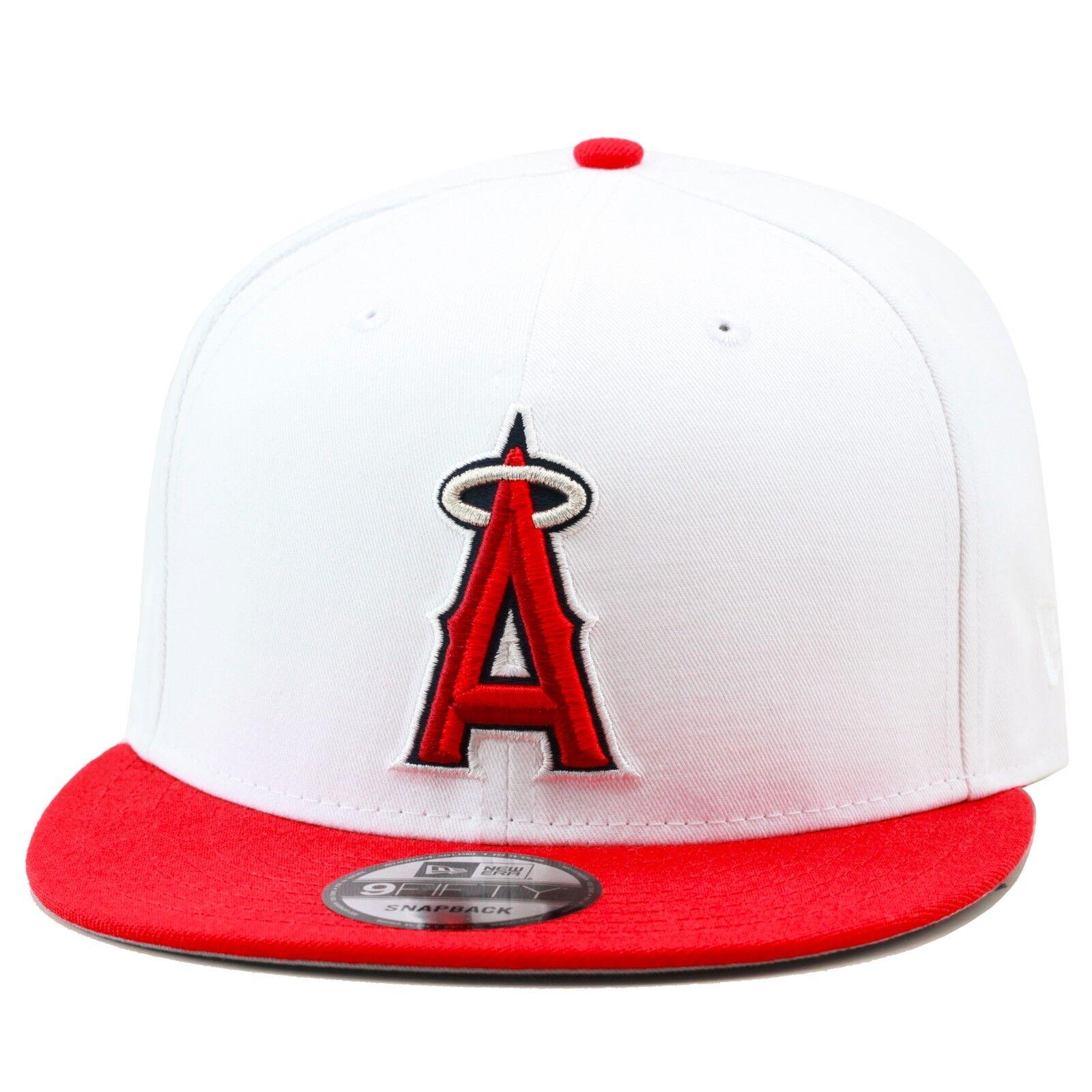 New Era la Angeli Cappello con Visiera Bianco Rosso da Jordan 13 Chicago  Shohei  7c07bb944734