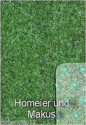 Rasenteppich Kunstrasen 133 cm Breite Farbe hellgrau 900 x 133 cm