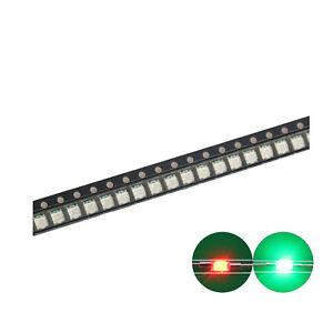 100 pcs SMD SMT 0603 Super bright Red LED lamp Bulb NEW