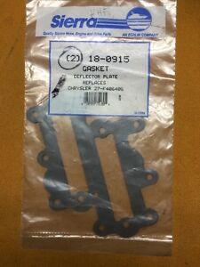 2 New Sierra 18-0915 Marine OEM GASKET Replaces Chrysler 27-F406406         T7