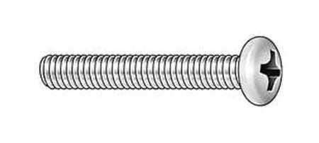 "100 pk. FABORY U24211.013.0050 #6-32 x 1//2/"" Round Head Phillips Machine Screw"