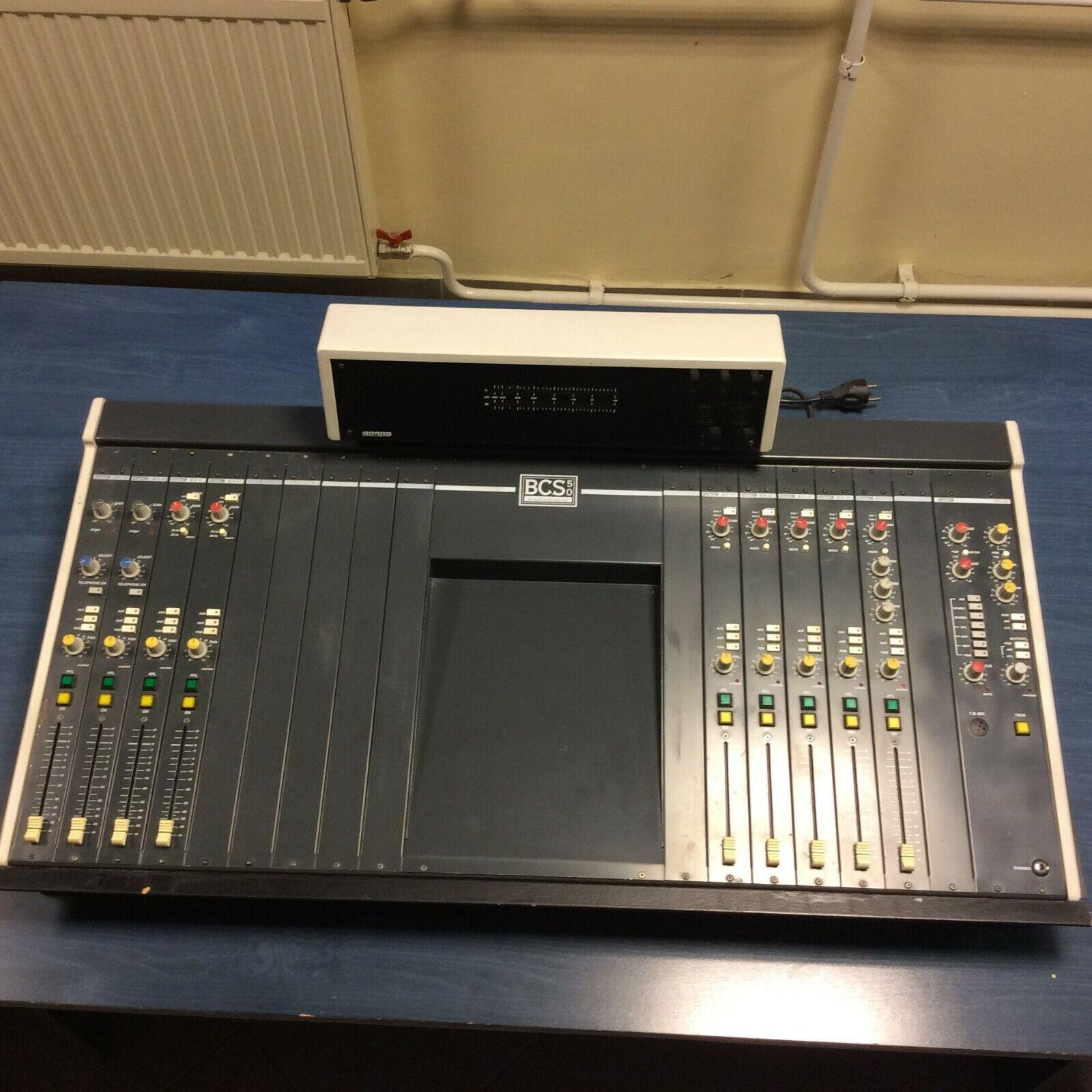 Dateq BCS-50 Broadcast Audio Mixing Desk