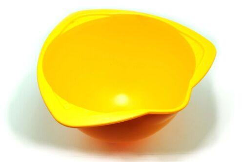 """5x jaune 6/"""" en plastique pour enfants cuisson saladiers empilables verseurs lip S7654"""