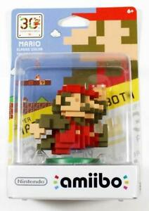 Amiibo Mario Classic Color (30th Super Smash Bros Series) NIB