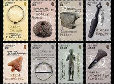 Jersey - Postfris / MNH - Complete set Ancient Artifacts 2017