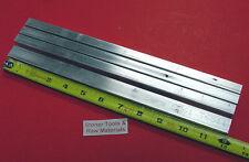 "4 Pieces 1/2"" X 3/4"" ALUMINUM 6061 FLAT BAR 12"" long .500"" Solid New Mill Stock"