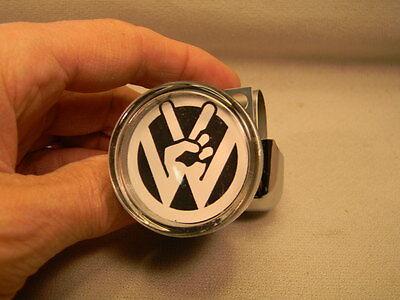 VW VOLKSWAGEN  PEACE OUT BLACK SUICIDE STEERING SPINNER KNOB