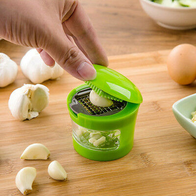 Press Stainless Vegetable Garlic Onion Slicer Chopper Cutter Dicer Kitchen Tools