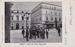 CHIETI-Largo-del-Teatro-Marruccino-1903