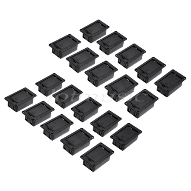 20Pcs  9V Battery Cover Case box holder for Active Guitar Bass Pickup