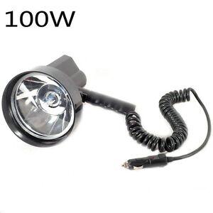 12V-100W-HID-5-034-Xenon-Handheld-Camping-Hunting-Fishing-Super-Light-Spotlight