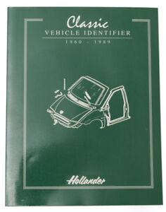 Hollander Classic Vehicle Identifier 1960 - 1989