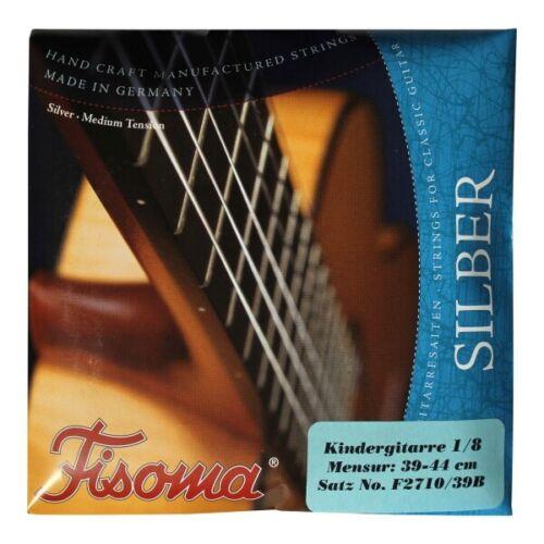 Fisoma F2710//39 BKonzertgitarrensaiten1//8 Gitarre Nylonsaiteneinachtel