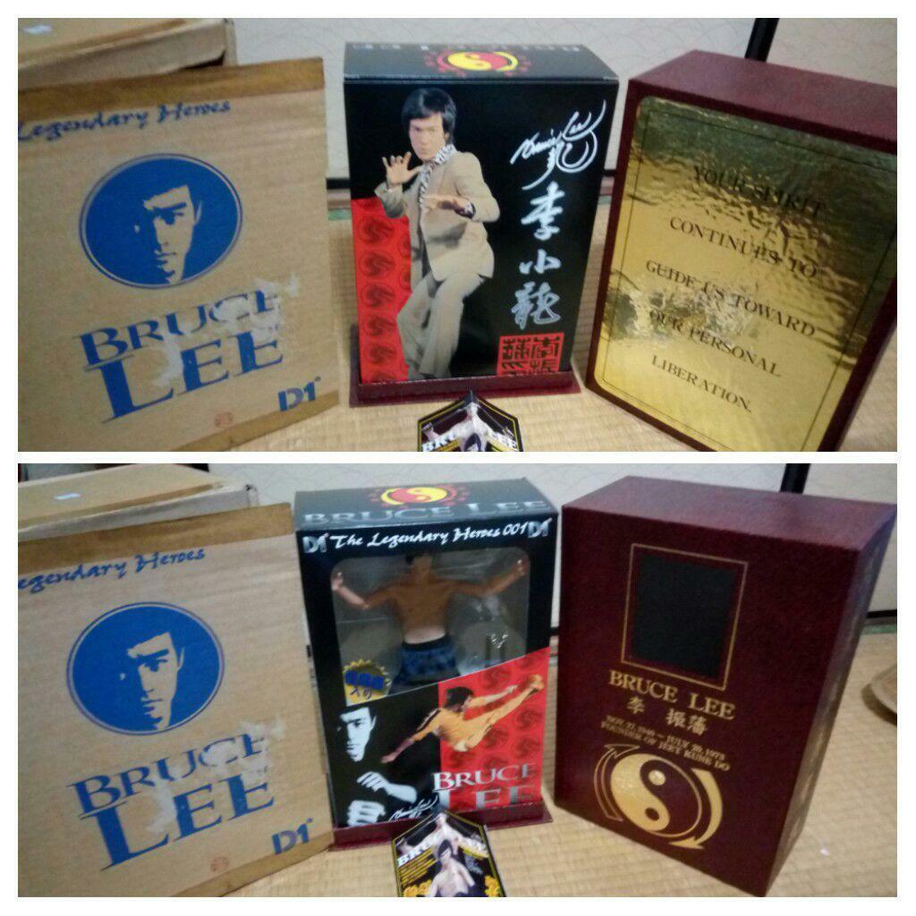 Bruce Lee Soundable Action Figure D1 1 6 Luxuary Box Set Unopened Japan