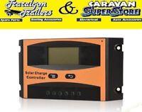 Solar Charge Charger Regulator 20 Amp 12 Volt 24 V Output Caravan Acc553