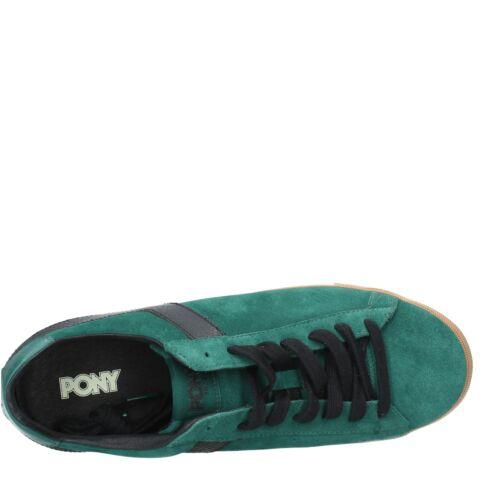 ZV0729 Scarpe Sneakers PONY 1972 Uomo Verde