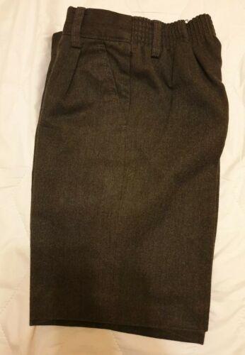 Banner Boys Grey School Uniform Shorts Age 5//6 years