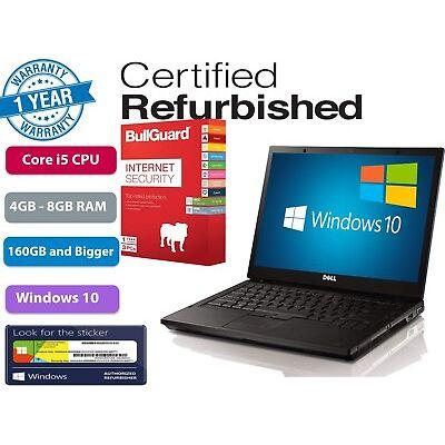 "Dell Latitude E6410 14.1"" Ci5 2.4GHz UPTO 8GB Ram 1TB HDD/SSD Options Windows10"