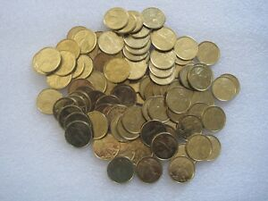 Lot-of-12-Religious-Guardian-Angel-Pocket-Token-Coin-Medal