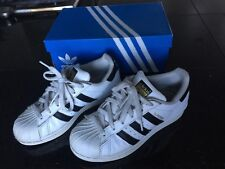 34a4bbe1ecd0 ADIDAS YOUTH ORIGINALS SUPERSTAR J GS C77154 WHITE BLACK WHITE 4 (Women 6