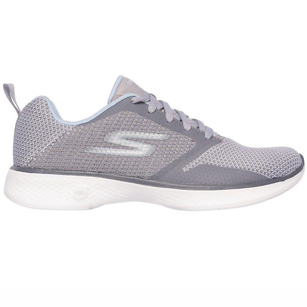 shoes Go Walk 4 Edge Skechers Grey Women