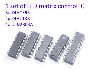 1-set-of-arduino-RGB-2color-LED-matrix-control-IC-74hc595-74hc138-ULN2803A