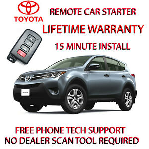 Image Is Loading 2018 Toyota Rav4 Remote Start No Wire Splicing