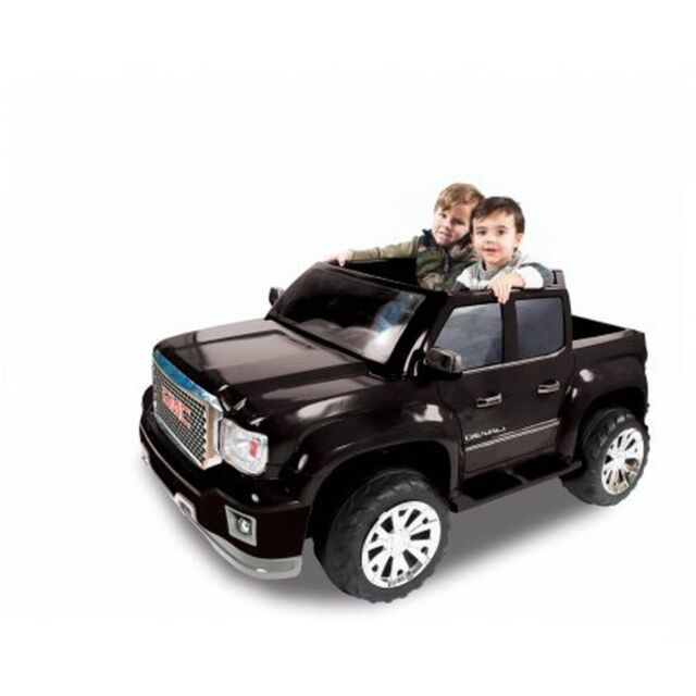 Gmc Sierra Denali Ride On 12v Battery Ed Kids Car Truck Toy Electric